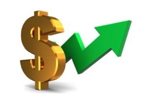 Loan Generation Dollar SIgn Rising